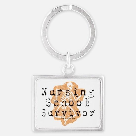 Studiogumbo - Nursing School Su Landscape Keychain