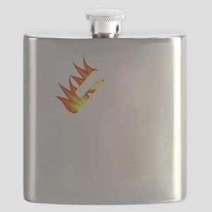 I Tried It At Home White SOT Flask