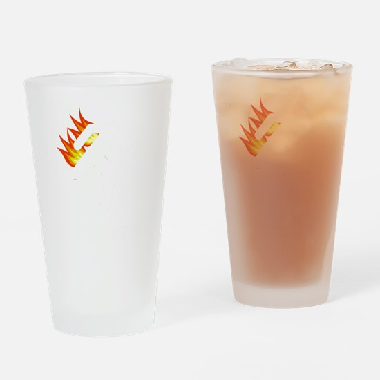 I Tried It At Home White SOT Drinking Glass