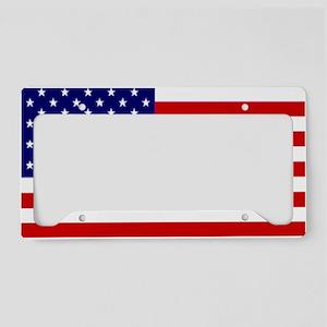 american-flag License Plate Holder