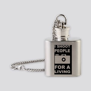 PHOTOGRAPHY GIFT FOR A LIVINGD Flask Necklace