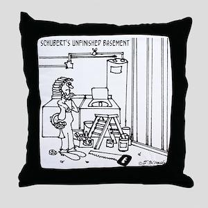 3812_schubert_cartoon Throw Pillow