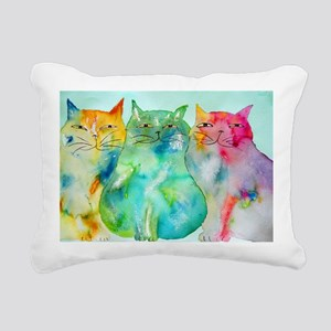 Haleiwa Cats Rectangular Canvas Pillow