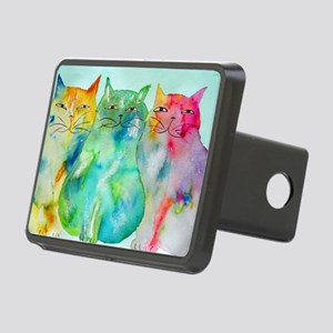 Haleiwa Cats Rectangular Hitch Cover