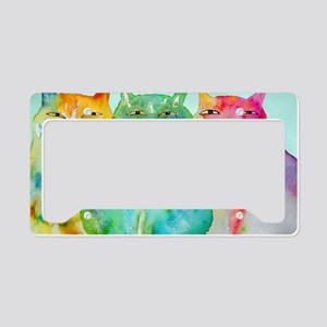 Haleiwa Cats License Plate Holder
