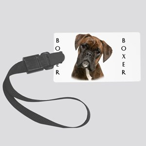 portrait8 Large Luggage Tag