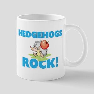 Hedgehogs rock! Mugs