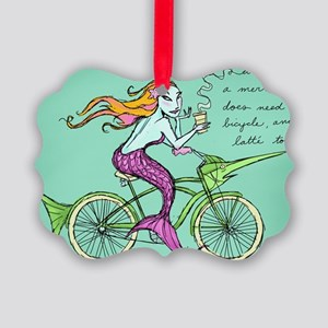 bike-maid Picture Ornament