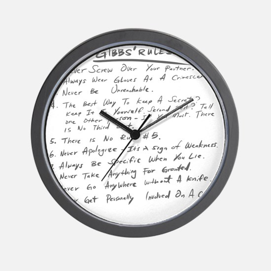 gibbsrules Wall Clock