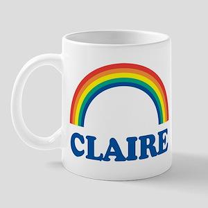 CLAIRE (rainbow) Mug