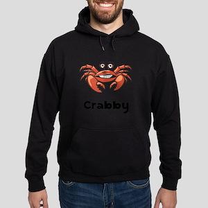 Crabby Crab Black SOT Hoodie (dark)