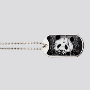 Wall Peel Grey Tone Panda 2 Dog Tags