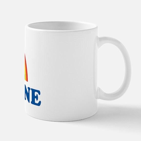 CHRISTINE (rainbow) Mug