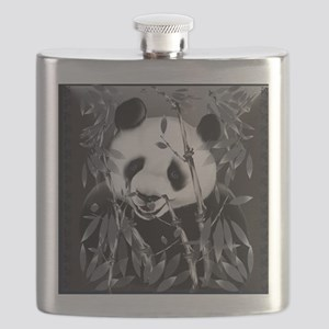 PillowGrey Tone Panda Flask