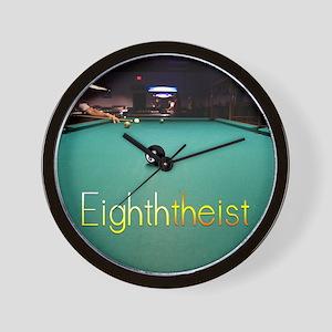 Eighth_Theist_16x20 Wall Clock