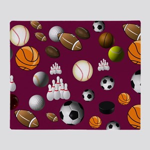 sports_balls Throw Blanket