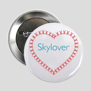 """Skylover RW Heart 2.25"""" Button"""
