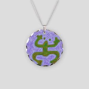 coqui33 Necklace Circle Charm