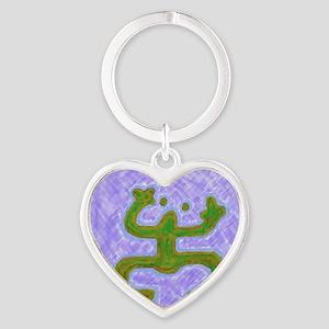 coqui33 Heart Keychain