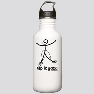 tap is good black Stainless Water Bottle 1.0L