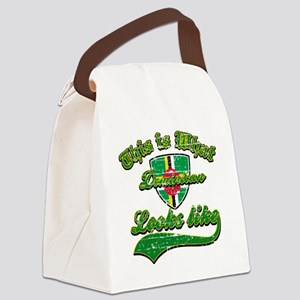 dominican Canvas Lunch Bag