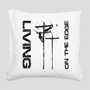 LOE_1 Square Canvas Pillow
