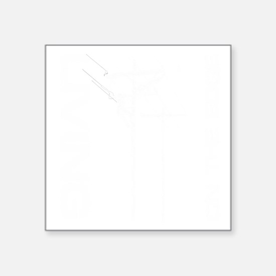 "LOE_1_black background Square Sticker 3"" x 3"""