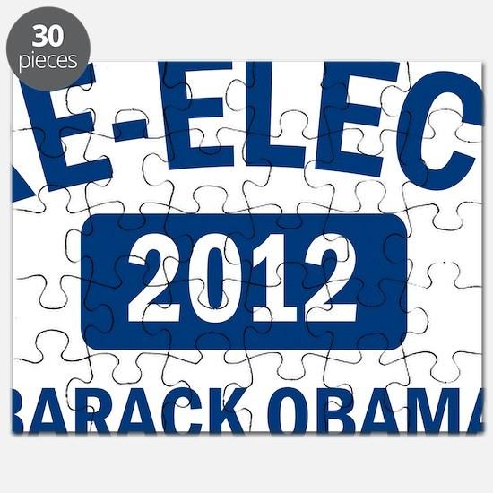 Re-Elect Barack Obama 2012 Puzzle