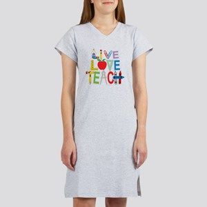 Live-Love-Teach Women's Nightshirt