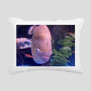 fish picture Rectangular Canvas Pillow