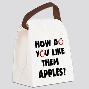 Them apples Canvas Lunch Bag