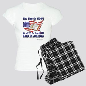 God in America Women's Light Pajamas