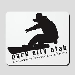 Park City Snowboarding Mousepad