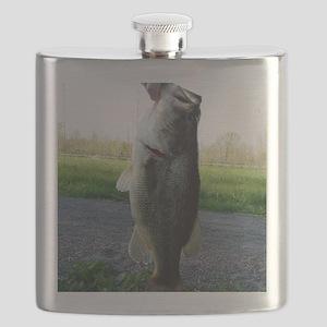 Bass Fish Flask
