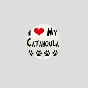 I-Love-My-Catahoula Mini Button