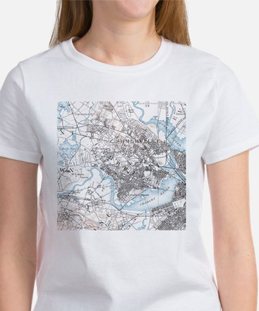 Cambridge Ma in 1886 Women's T-Shirt