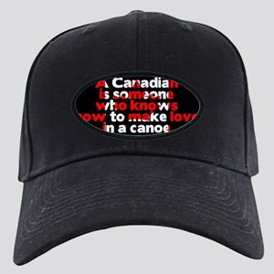 Canadians Make Love in a Canoe Pierre Bu Black Cap