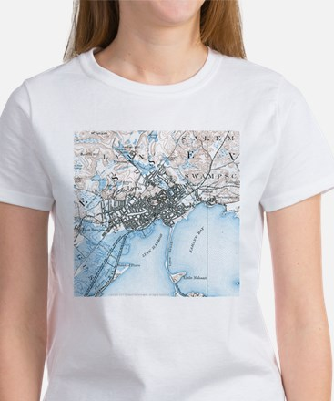 Lynn, MA in 1887 Women's T-Shirt