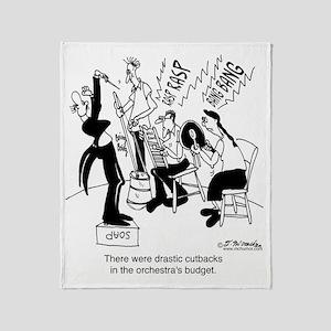 5562_orchestra_cartoon_JAC Throw Blanket