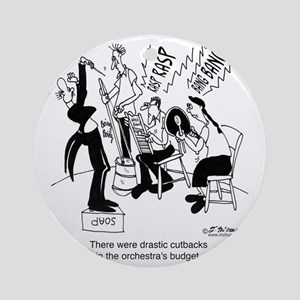 5562_orchestra_cartoon_JAC Round Ornament
