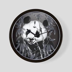 CalenderGrey Tone Panda Wall Clock