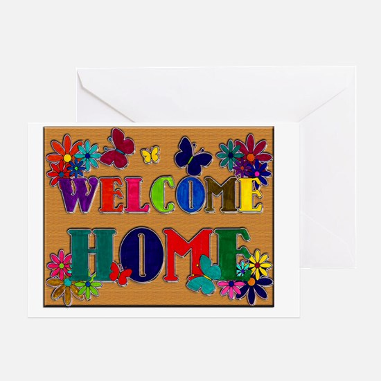 Welcome Home copy Greeting Card