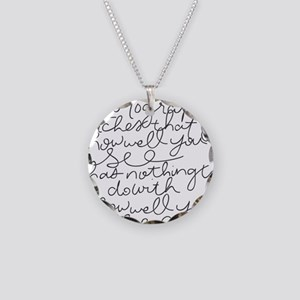 howellyousee Necklace Circle Charm