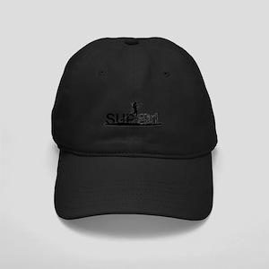 SUPgirl_T4_black Black Cap