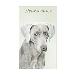 Weimaraner Sticker (Rectangle)