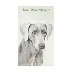 Weimaraner Sticker (Rectangle 10 pk)