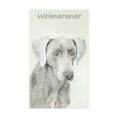 Weimaraner Sticker (Rectangle 50 pk)