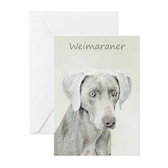 Weimaraner Greeting Cards (Pk of 20)
