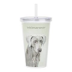 Weimaraner Acrylic Double-wall Tumbler
