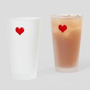 I-Love-My-Catahoula-dark Drinking Glass